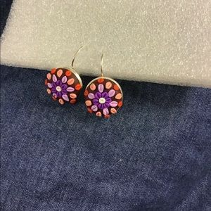 polymer clay earrings. Handmade